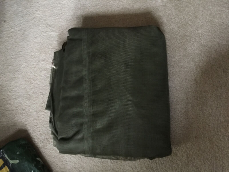 """Mosquito Net  Excellent Condition 84""""   x  151"""" approx Nylon Insect Bar Field"""