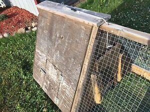 Rabbit grazing cage