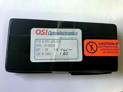 20 Pcs. Osi Optoelectronics Fci-apd-500 Photodiode.