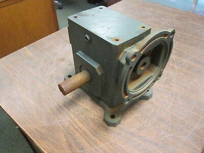 Grove Gear Flexaline Reducer Tmq224-2 Ratio 201 1.82hp In 56c Motor Frame Used