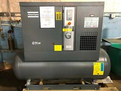 15 Hp Atlas Copco G11ff Rotary Screw Air Compressor