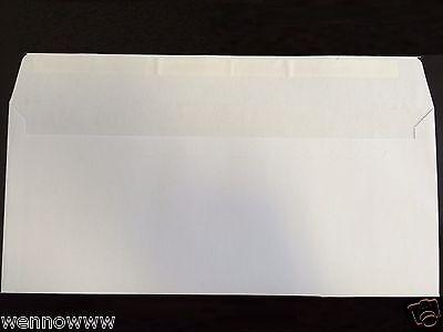 50 Peel Self-seal White Letter Mailing Long Envelopes Shipping 4-18x9-12