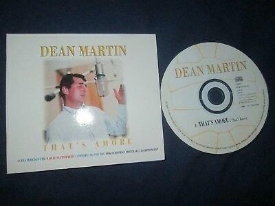 Dean Martin That's Amore (That's Love) Capitol Records CDSP 129 UK CD Single, usado segunda mano  Embacar hacia Argentina