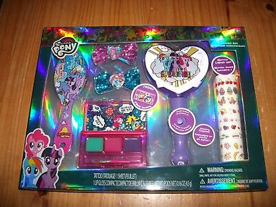 My Little Pony Cosmetic Set for Girls ~ Tattoo / Lip Gloss With Lighted Mirror ! - Batman Makeup For Kids