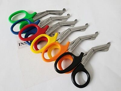 25 Pairs Trauma Shears Bandage Scissors 7 14
