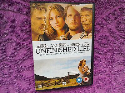 An Unfinished Life DVD. Drama (2005) Starring Jennifer Lopez, Robert Redford
