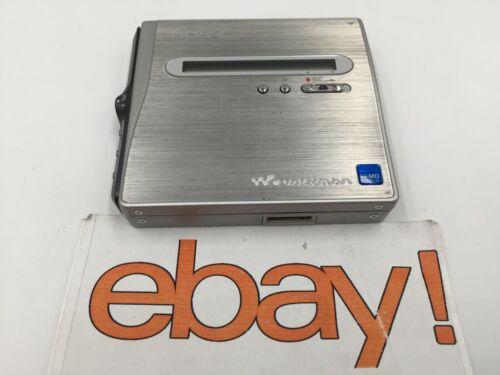 GENUINE VINTAGE Sony MZ-NH1 Net MD/Hi-MD Walkman Portable Minidisc Recorder