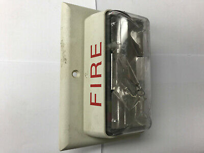 Est Edwards 202-7a-tw Fire Alarm Strobe Synchronized White