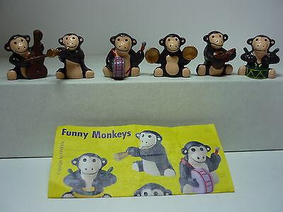 Onken/ Funny Monkeys Fremdfiguren Satz mit 1 BPZ