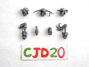 Ork Boyz Heads Skull Captured Head Warhammer 40k Space Orc bits bitz parts head