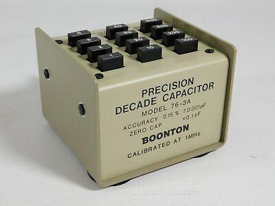 Boonton 76-3a Precision Decade Capacitor Good Condition