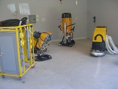 Concrete Floor Grinder Polisher