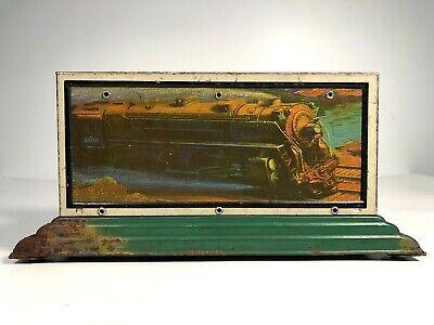 Vintage AMERICAN FLYER Prewar 2029 WHISTLING BILLBOARD Train NY CENTRAL RAILROAD