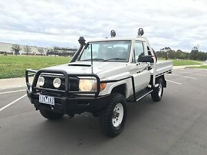 2008 Toyota LandCruiser Ute. Low 160Km's RWC completed Truganina Melton Area Preview