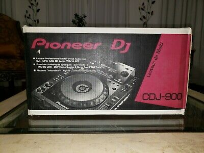Pioneer CDJ-900 Professional Media Multi Player Never Opened Read Description