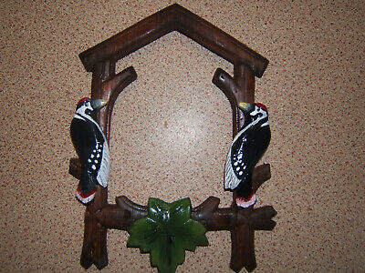 Antique  Black forest cuckoo clock  Front Case Decor ONLY