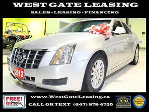 2012 Cadillac CTS LEATHER | BLUETOOTH | CERTIFIED | 2 YEAR WARRA