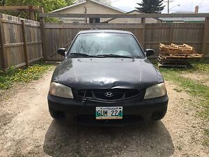 2001 Hyundai Accent Hatchback / Sold as is!