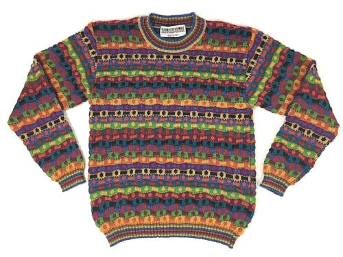 Missoni 3D Rainbow Sweater Coogi Style Kids Pride 7-8 7 8 128 Alpaca Childrens