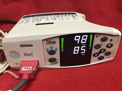 Masimo Rad 87 Pulse Oximeter Spo2 Patient Monitor Certified 1 Year Warranty