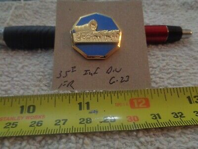 35th Infantry Division FR G-23 Unit Crest, DI, DUI (DRAW#K6)