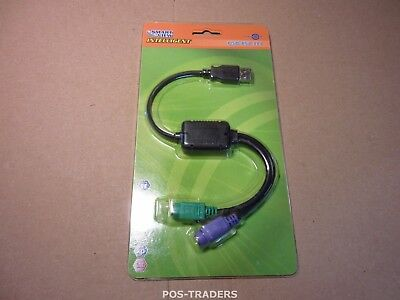 SMART VIEW USB-PS2 III CABLE - USB TO PS/2 - NEW NEU NUOVO IN BOX