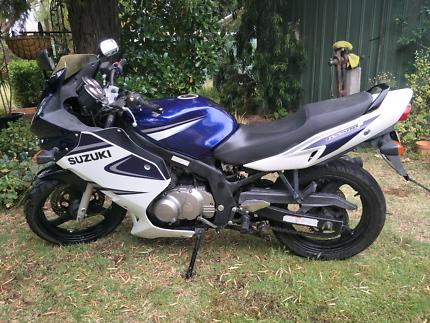 Suzuki GS500F LAMS approved