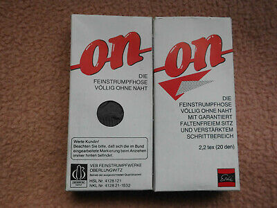 Feinstrumpfhosen- 2 Paar  Original ESDA/ DDR- Neu online kaufen