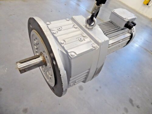 SEW Eurodrive RF87DRE100L4/TH Motor & Drive Gear Reducer 124.97 Ratio*
