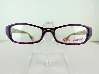 Betsey Johnson Girls Best Friend (07) VIO 51 x 17  Eyeglass Frames