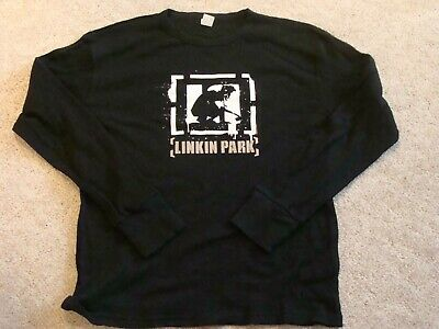 Linkin Park Thermal Long Sleeve T-Shirt Adult XL RARE