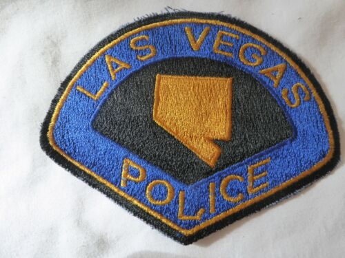 LAS VEGAS NEVADA POLICE UNIFORM EMBLEM PATCH, NEW UNUSED!
