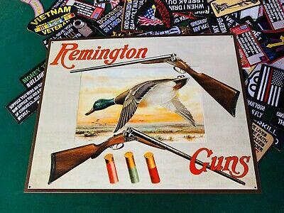 Vintage Replica Tin Metal Sign Remington pistol ammo gun Rifle Shotgun new 1788