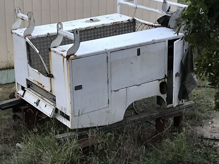 Space cab trade body, tool box , canopy