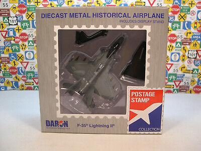 USAF F-35 LIGHTNING II DARON 1:144 SCALE DIECAST METAL DISPLAY MODEL AIRPLANE 1 144 Scale Airplanes