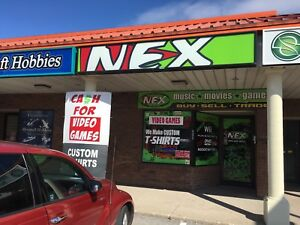 Get Cash for Video Games at NEX Game Store