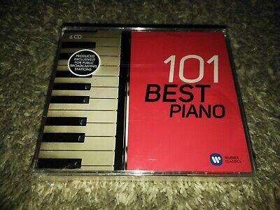 101 Best Piano Warner Classics 6 CD Set