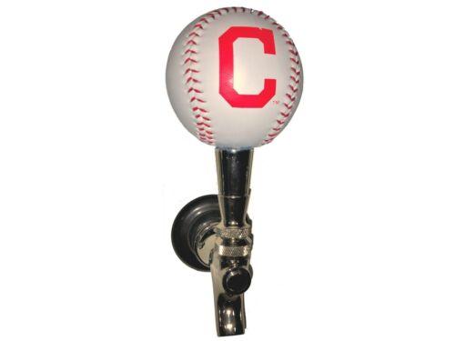 Cleveland Indians Licensed Baseball Beer Tap Handle