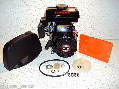 Belle Minimix 150 Cement Mixer Loncin Engine Kit Replaces Honda Gxh50 G100
