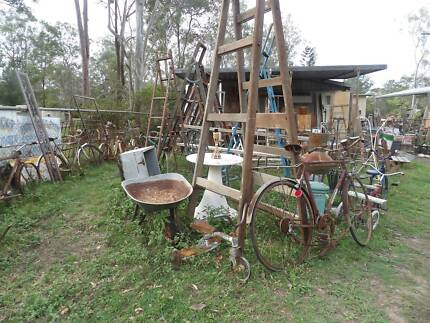 Heaps of vintage retro & rustic stuff - various prices