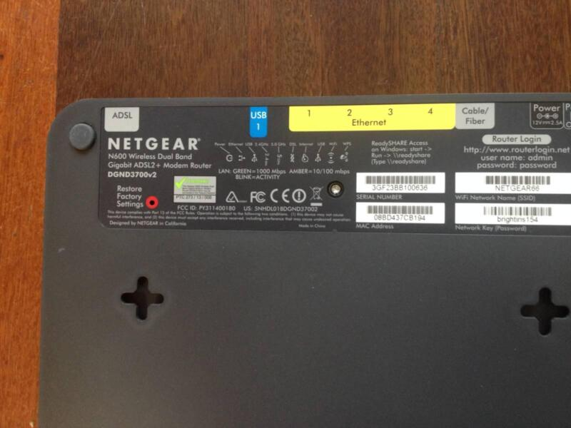 Assorted N600 Wireless-N Dual-Band ADSL2-plus Modem Router
