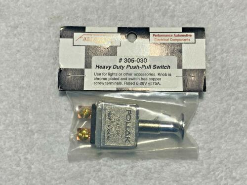 New - Fastronix - #305-030 Heavy Duty Push Pull Switch - Emergency Lights