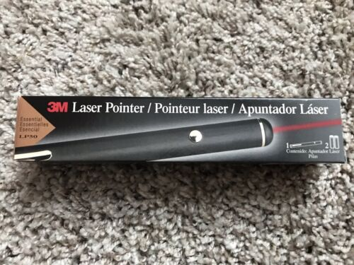 3M Red Laser Pointer Essential - LP50 - Batteries Included -