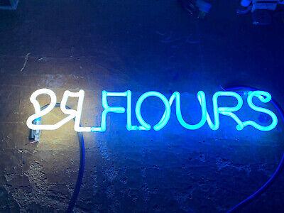 24 Hour Fitness Store Neon Sign Beer Light Part Piece Tubing Unit Script Letter