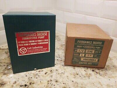 12 Hp 230v Fairbanks Morse Control Box Submersible Water Pump 40039664 A3