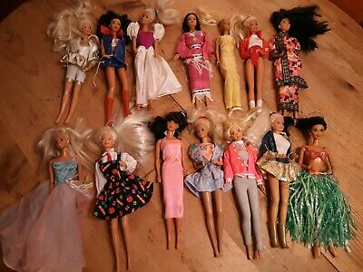 Vintage Barbie Lot Of Various Types And Styles