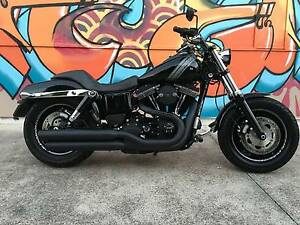 Immaculate, upgraded example of Harley Davidson's iconic Fat Bob Buderim Maroochydore Area Preview