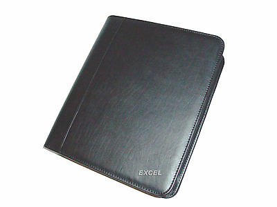 On Sale New Padfolio Organizer 3 Metal Rings Zippered Jr Legal Pad Black