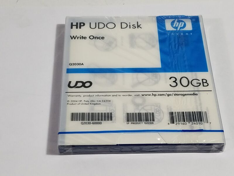 HP UDO Disk Q2030A