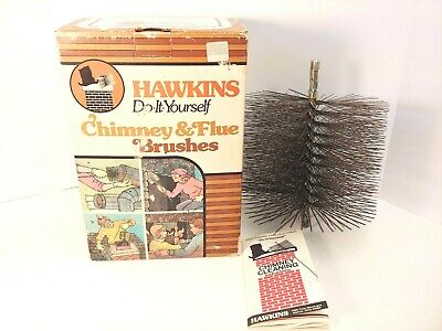 VTG Hawkins Chimney Steel Cleaning Brush - 8